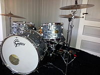 Collins has used Gretsch drums since 1983.