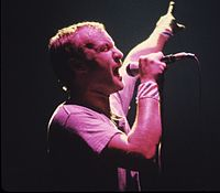Collins performing in 1981.