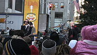 Stewart and Lennox performing on The Today show in November 2005.