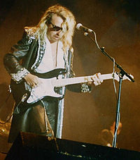 Dave Stewart at Rock am Ring in Germany, 1987.