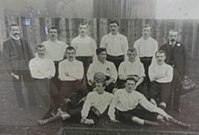 The Leicester Fosse team of 1892