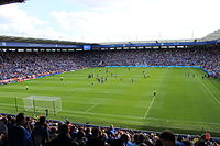The King Power Stadium, formerly known as the Walkers Stadium, has been Leicester's home ground since 2002