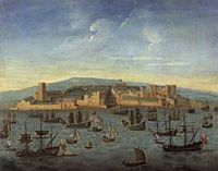 Liverpool in 1680, the earliest known image of Liverpool.