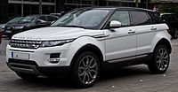 The Range Rover Evoque is manufactured at Jaguar Land Rover's plant at Halewood.