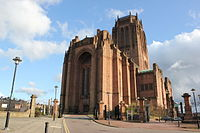 Liverpool Cathedral is regarded as one of the greatest buildings of the twentieth century and is one of the largest church buildings in the world
