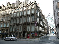 """Oriel Chambers, the first """"modern"""" building in the world"""