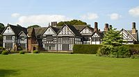 Speke Hall Tudor manor house is one of Liverpool's oldest buildings