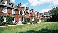 Ashburne Hall, a catered accommodation offered mainly to undergraduate students, though some places are reserved for postgraduate students
