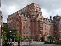The Sackville Street Building, formerly the UMIST Main Building