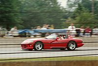 The pre-production Dodge Viper (SR I) as the pace car for the 1991 Indianapolis 500.