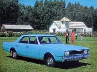 An Argentine Dodge Polara, produced from 1968 to 1980