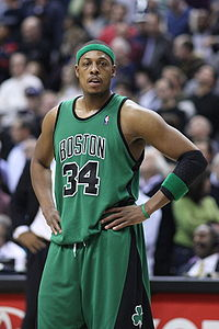 Drafted by the Celtics in 1998, Paul Pierce went on to star for the Celtics and later won the NBA Finals MVP Award when the team won the NBA championship in 2008