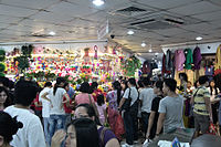 Divisoria is a popular flea market for locals and tourists.
