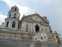 Quiapo Church is the home to the iconic Black Nazarene which celebrates its feasts every January 9