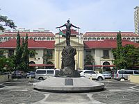 The Philippine General Hospital, the national referral center for health in the Philippines.