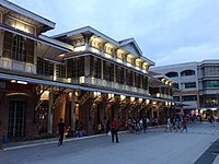 Tutuban Main Station, which was built in 1887, is the main terminal of the Ferrocaril de Manila-Dagupan (now known as the Philippine National Railways). At the present moment, it serves as a shopping center and a public transit hub.