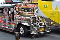 Jeepney is one of the most popular modes of transportation in Manila