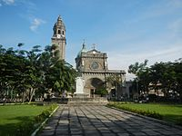 Manila Cathedral is the seat of Roman Catholic Archdiocese of Manila
