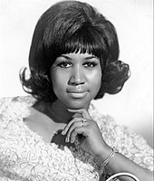 Soul singer Aretha Franklin was a major influence on Clarkson.