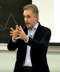 Peterson at the University of Toronto in March 2017