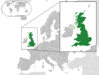 """<div style=""""font-size:11px""""> Political definition of Great Britain ( dark green ) <div style=""""font-size:11px""""> – in Europe ( green & dark grey ) <div style=""""font-size:11px""""> – in the United Kingdom ( green )"""