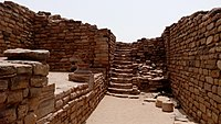 Dholavira, a site from the Indus Valley Civilization.
