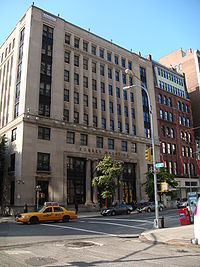 The former headquarters of Forbes on 5th Avenue in Manhattan (now owned by New York University)