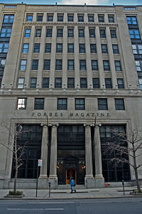 Forbes Building on Fifth Avenue in New York City (now owned by New York University)