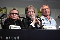 Fisher, Hamill, and Ford reprised their characters in supporting roles.