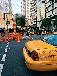 Filming of Thor: Ragnarok in Brisbane's central business district, which doubled as Manhattan