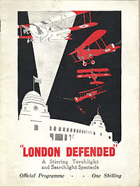 """""""London Defended"""" 1925 Official Programme"""