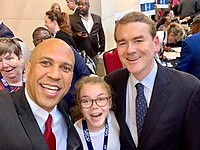 Cory Booker and Michael Bennet (D-CO)