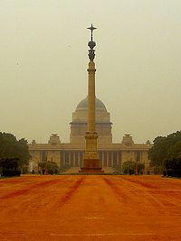 Rashtrapati Bhavan is the official residence of the President of India.