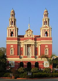 The Sacred Heart Cathedral is a Roman Catholic cathedral and designed by British architect Henry Medd based on Italian architecture.