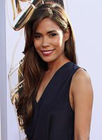 Daniella Alonso her mother is Puerto Rican, and her father is Peruvian, of native and Japanese descent.