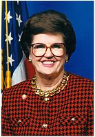 Barbara Vucanovich the first Latina elected to the United States House of Representatives, in which she served representing Nevada.