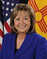 Susana Martinez, first elected Latina Governor in the United States.
