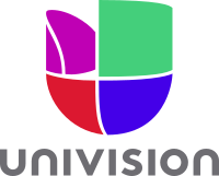 Univision is the country's largest Spanish language network, followed by Telemundo