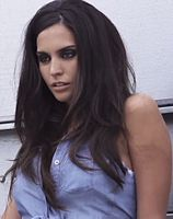 """Genesis Rodriguez actress and model her father, José Luis Rodríguez, actor and singer known by the nickname """"El Puma""""."""