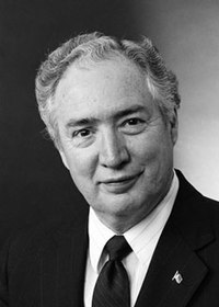 Lauro Cavazos, US Secretary of Education from August 1988 to December 1990.