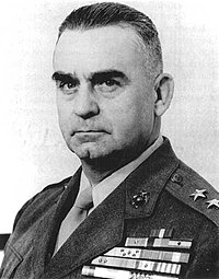 Pedro del Valle – first Hispanic to reach the rank of Lieutenant General