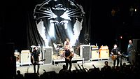 Against Me! on tour in support of New Wave
