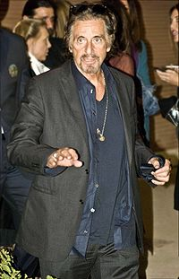 Pacino at the Rome Film Festival in 2008