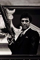Pacino in 1983's Scarface