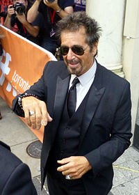 Pacino at the Toronto Film Festival in 2014