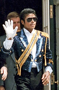 """Michael Jackson, whose discography included music videos such as """"Beat It"""", """"Billie Jean"""", and """"Thriller"""""""