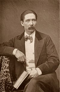 John Nevil Maskelyne, a famous magician and illusionist of the late 19th century.