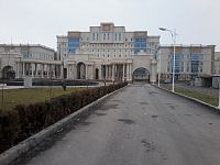 A hospital in Dushanbe