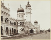The Government Offices of the Federated Malay States (Now the Sultan Abdul Samad Building) facing the Padang, c.1900