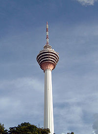 The Kuala Lumpur Tower is an important broadcast centre in the country.